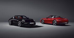 Porsche prezentuje najnowszą generację modelu 911 Targa – auto dostępne będzie w wersjach 4 i 4S