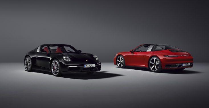 Porsche prezentuje najnowszą generację modelu 911 Targa – auto dostępne będzie w wersjach 4 i 4S<