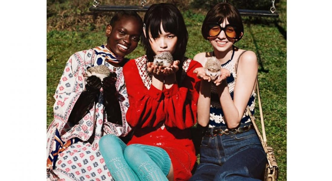 ",,High-fashion ZOO"", czyli nowa kampania Gucci Pre-Fall 2020"