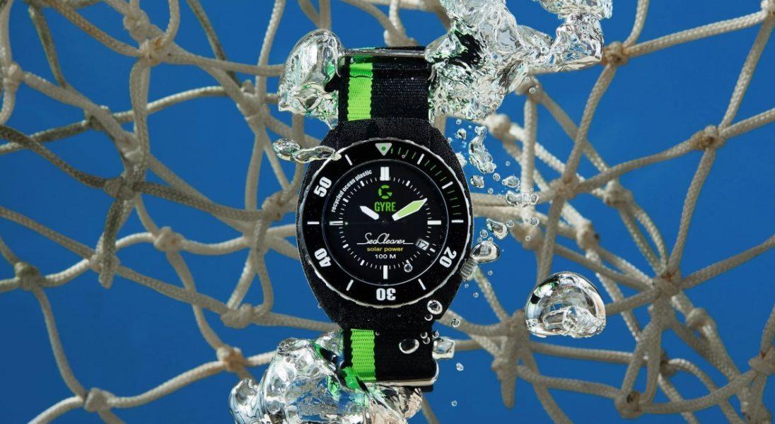 Gyre SeaCleaner, czyli zegarek zrobiony z recyklingowanych sieci rybackich