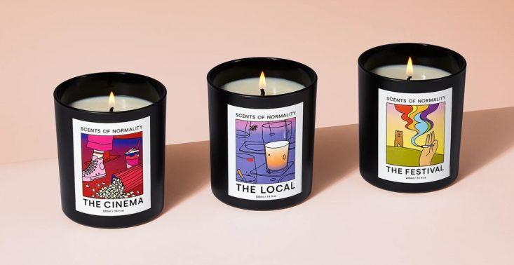 Scents of Normality, czyli świeczki o zapachu normalności<