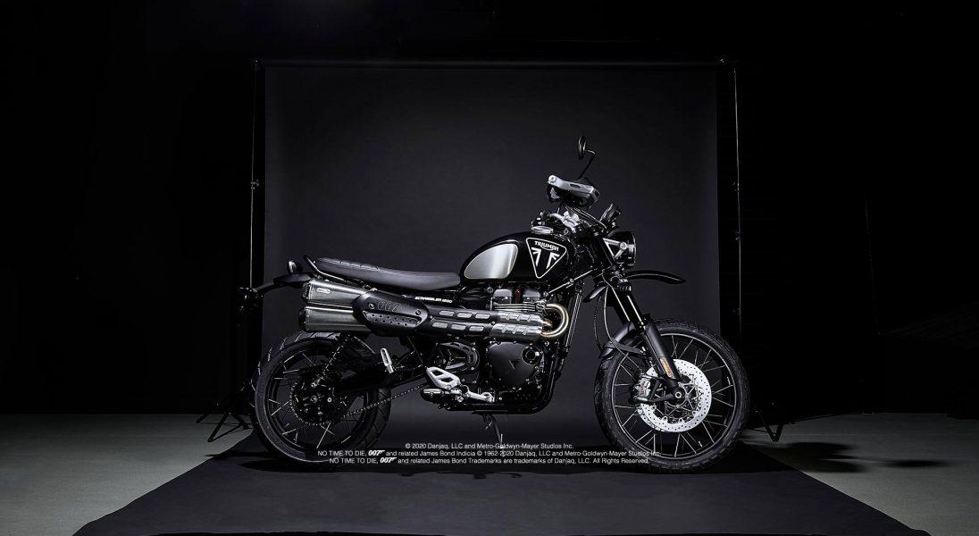 Motocykl z nowego Jamesa Bonda już dostępny w sprzedaży