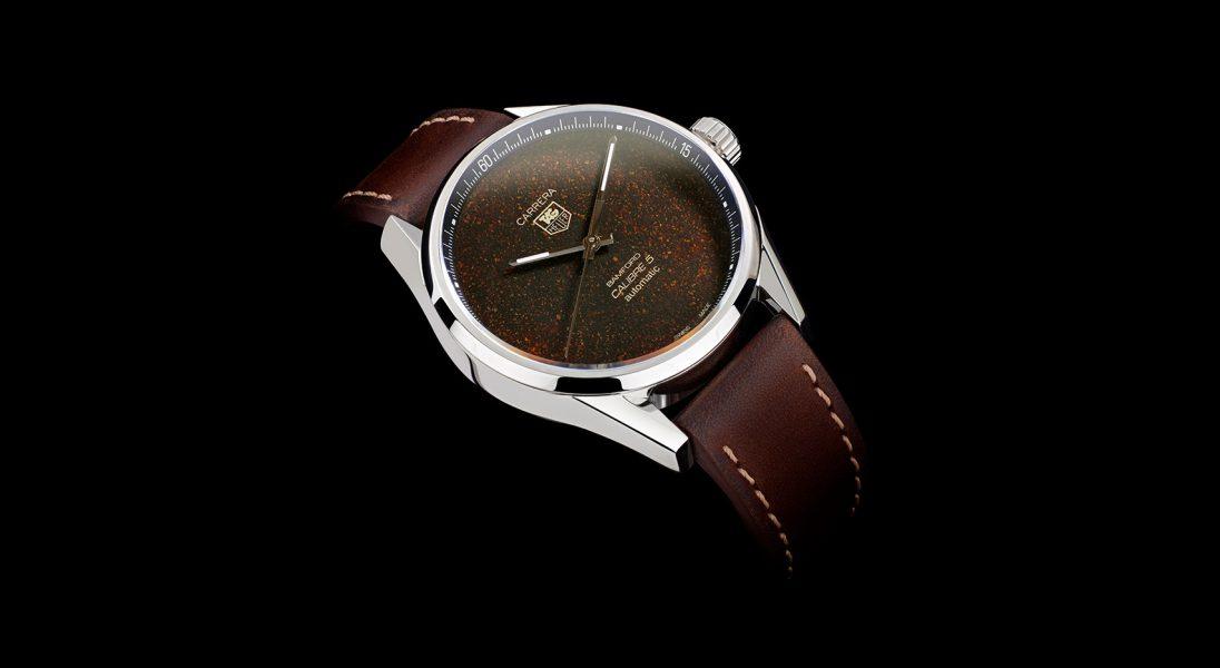 Tag Heuer Carrera Calibre 5, czyli zegarek z tarczą stworzoną z mielonej kawy