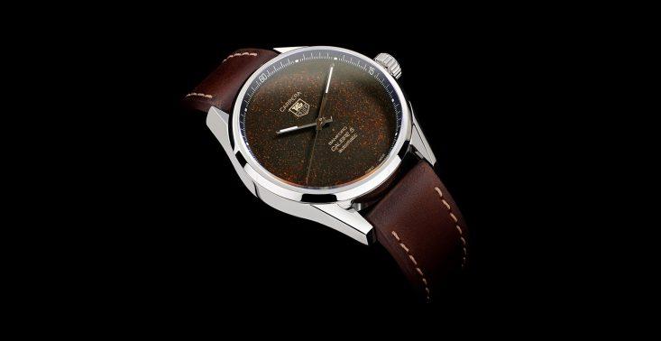 Tag Heuer Carrera Calibre 5, czyli zegarek z tarczą stworzoną z mielonej kawy<