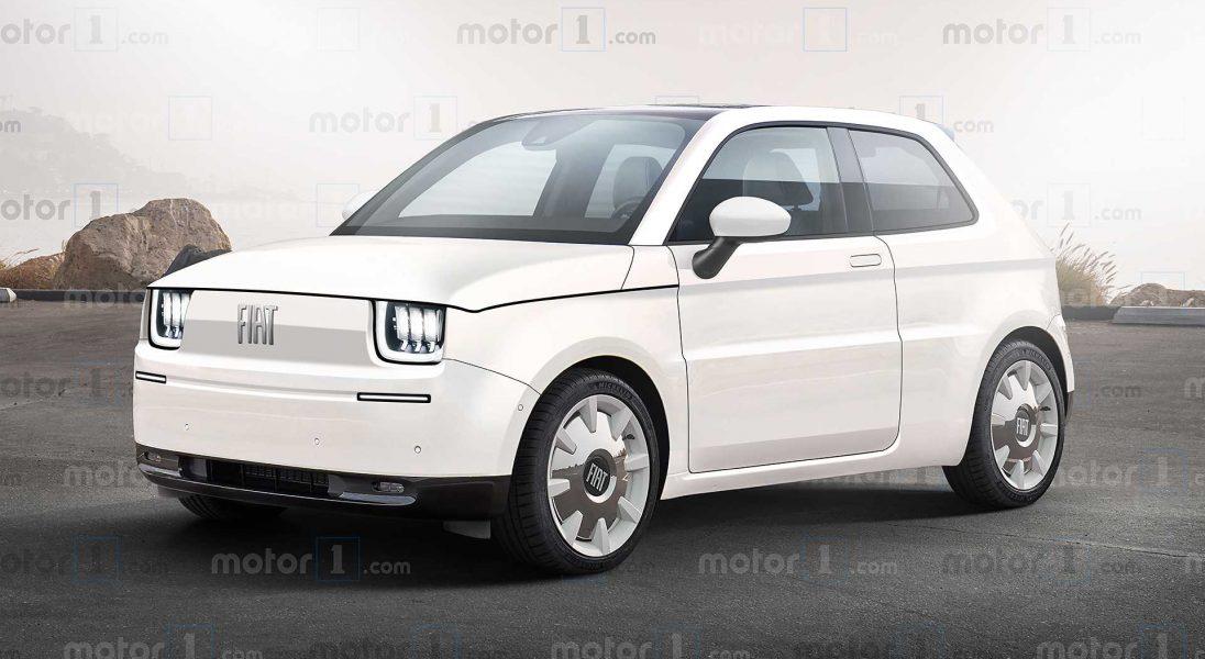 Oto koncept unowocześnionego Fiata 126p, który teraz jest elektrykiem