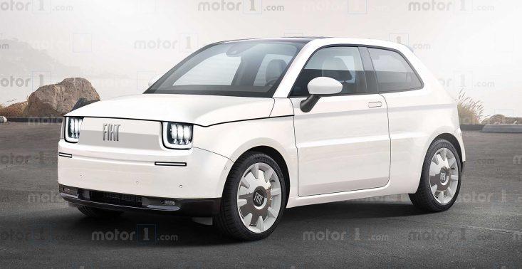 Oto koncept unowocześnionego Fiata 126p, który teraz jest elektrykiem<