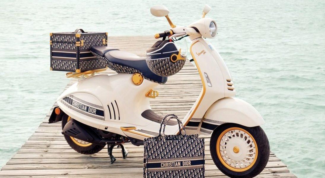 Dior i Vespa łączą siły i prezentują nowy, superstylowy skuter