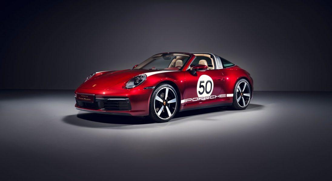Przedstawiamy Porsche 911 Targa 4S Heritage Design Edition – to klasyka w nowoczesnym wydaniu