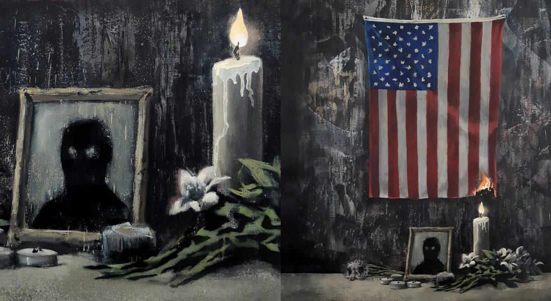 Banksy nowym dziełem komentuje sytuację w USA i zwraca uwagę na problem dyskryminacji mniejszości