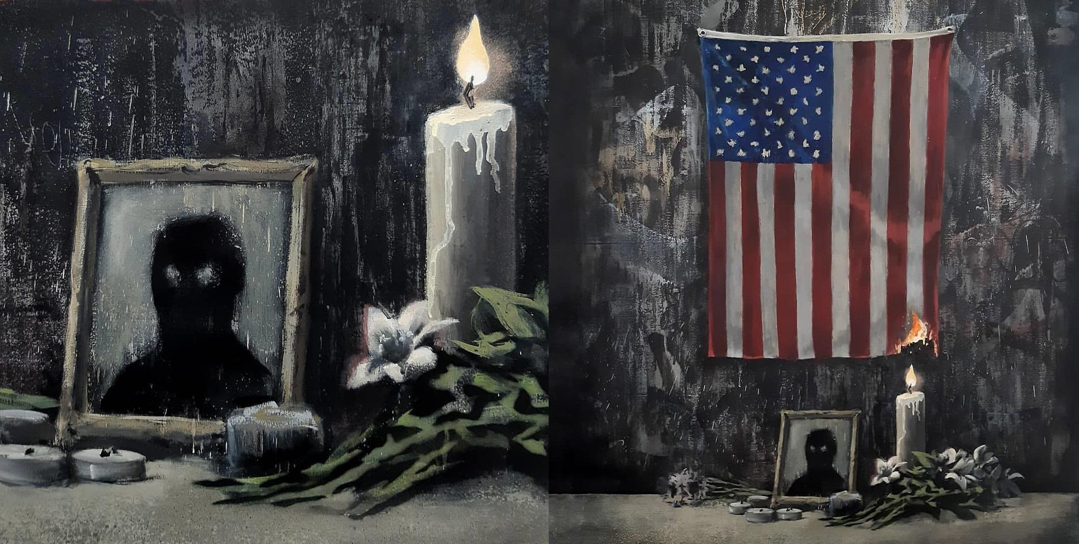 Banksy Nowym Dzielem Komentuje Sytuacje W Usa I Zwraca Uwage Na Problem Dyskryminacji Mniejszosci Sznyt Pl