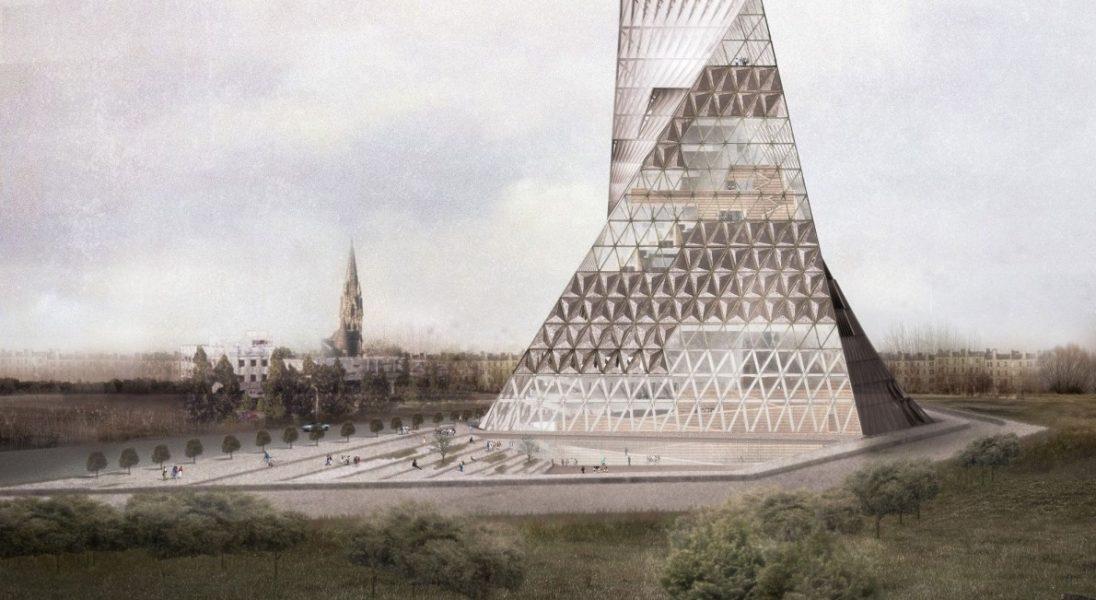 The Book Tower of Warsaw: Futurystyczna biblioteka, która mogłaby pojawić się w Warszawie
