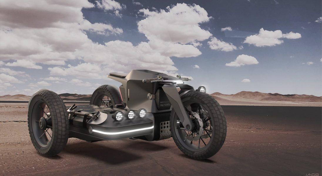 BMW Motorrad x ESMC Off-Road, czyli niekonwencjonalny projekt motocykla z wózkiem