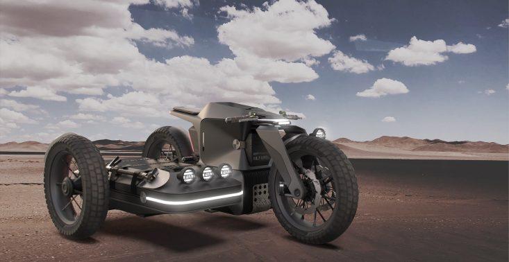 BMW Motorrad x ESMC Off-Road, czyli niekonwencjonalny projekt motocykla z wózkiem<