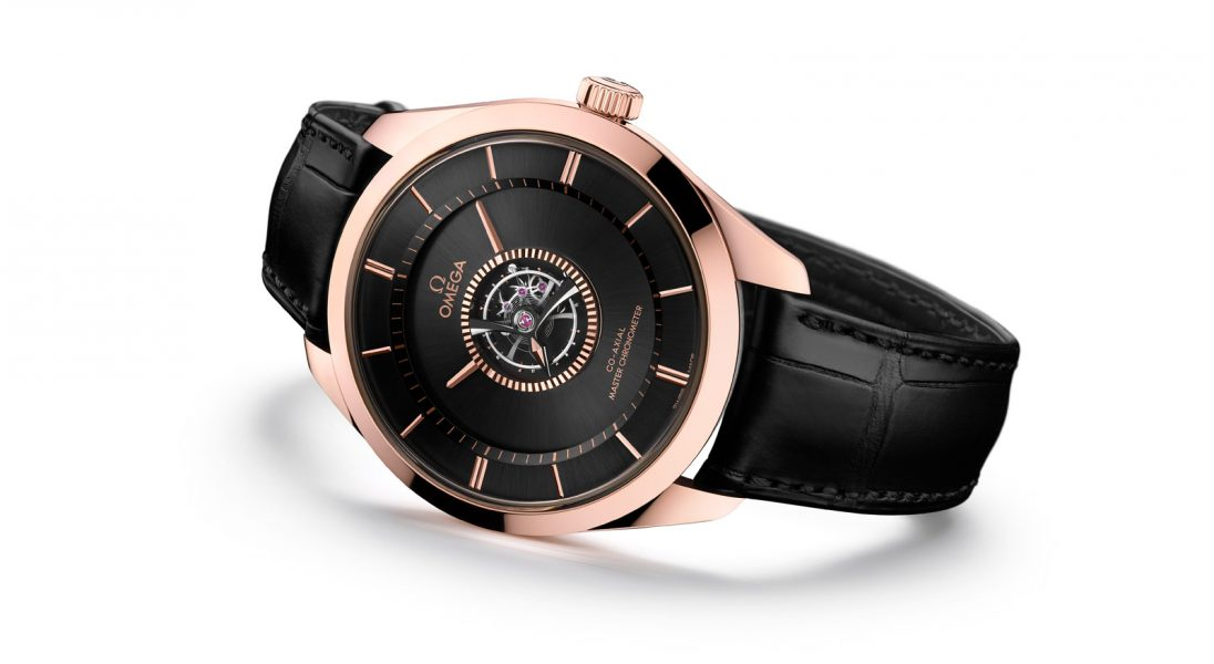 Omega prezentuje najnowszą odsłonę eleganckiego modelu Omega De Ville Tourbillon Numbered Edition