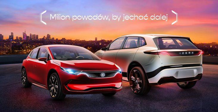 Oto Izera, czyli pierwszy polski samochód elektryczny spółki ElectroMobility Poland<
