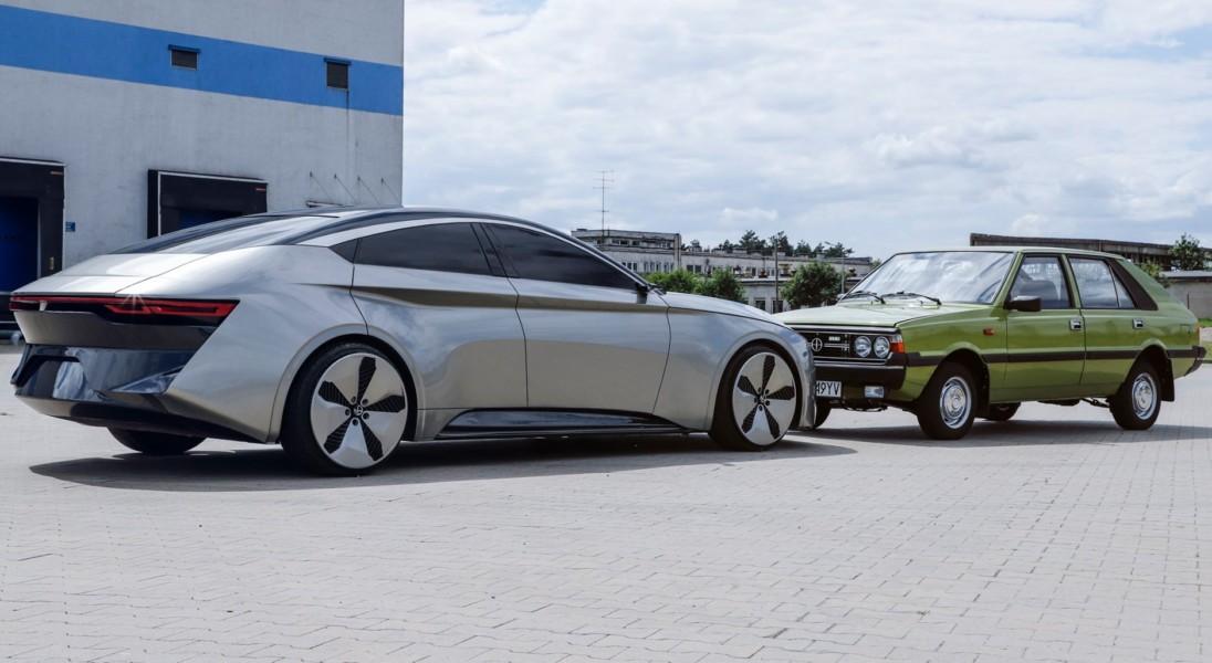Wczoraj Izera, dzisiaj Polonez. Zaprezentowano model koncepcyjny kolejnego polskiego auta elektrycznego