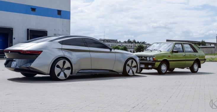 Wczoraj Izera, dzisiaj Polonez. Zaprezentowano model koncepcyjny kolejnego polskiego auta elektrycznego<