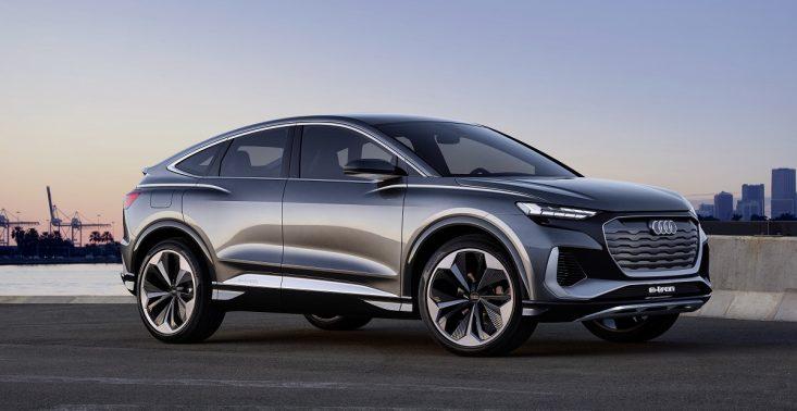 Audi prezentuje koncept kolejnego elektrycznego SUV-a – Q4 Sportback e-tron<