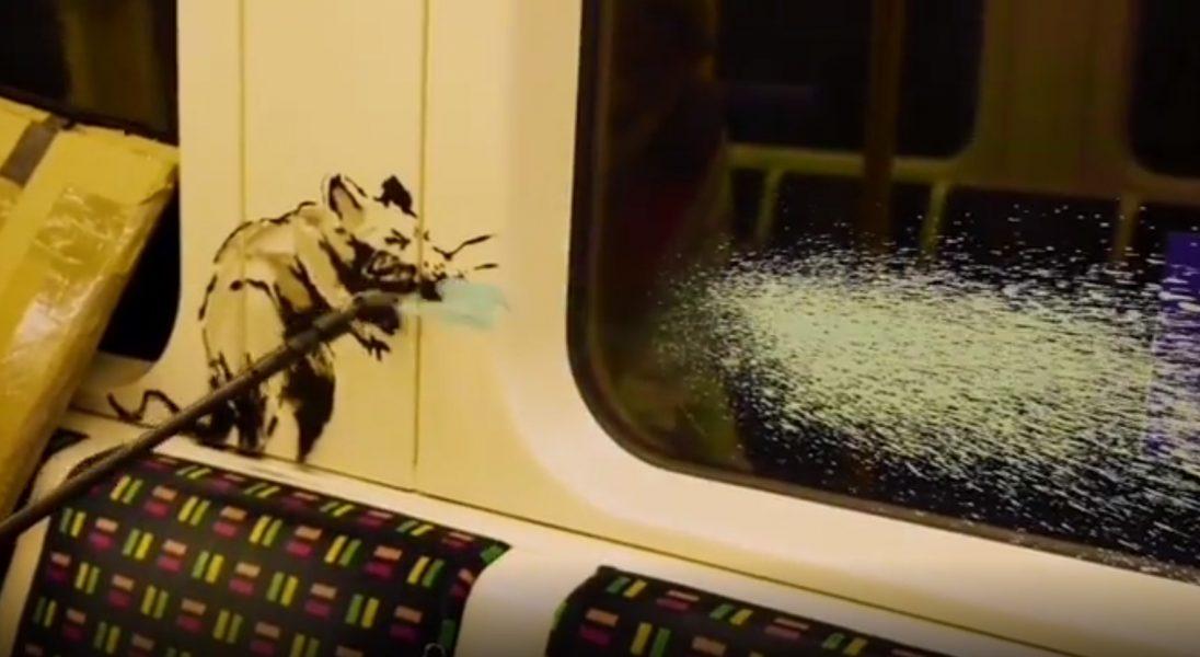 Banksy stworzył nowe dzieło – tym razem pojawiło się w londyńskim metrze