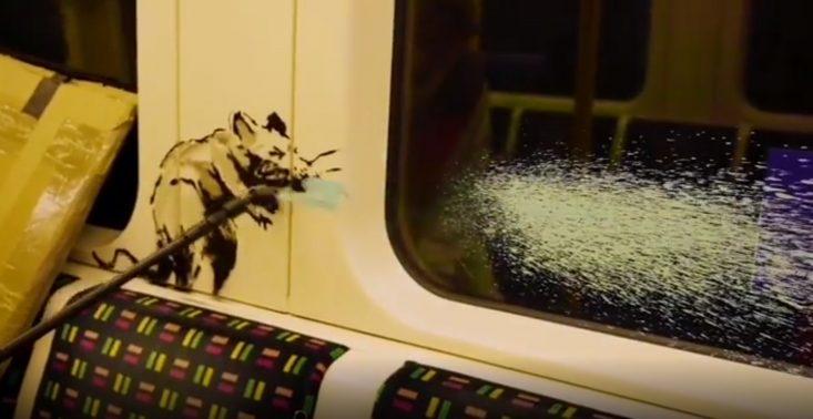 Banksy stworzył nowe dzieło – tym razem pojawiło się w londyńskim metrze<
