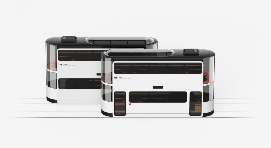 Ten futurystyczny tramwaj już wkrótce będzie jeździł w Hongkongu – ma być odpowiedzią na problemy zatłoczonego miasta