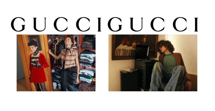 W nowej kampanii Gucci wchodzi do domów modeli i modelek i pokazuje, jak wygląda ich codzienność<