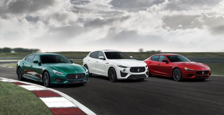 Ghibli i Quattroporte zmieniają się w supersedany Maserati w nowej kolekcji Trofeo<