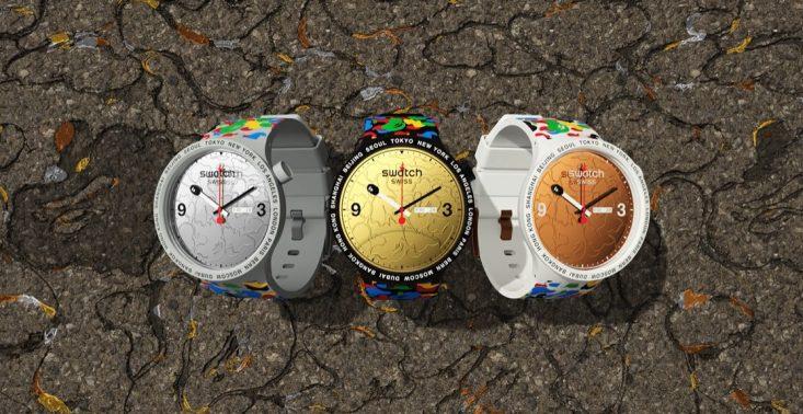 Marki Swatch i A Bathing Ape stworzyły kolekcję stylowych zegarków<