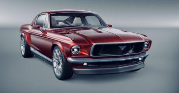 Aviar R67, czyli niesamowity koncept będący połączeniem Tesli i klasycznego Forda Mustanga