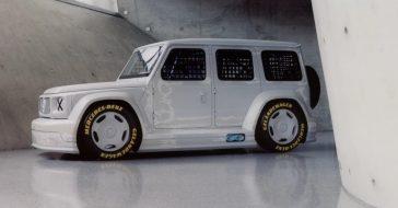 Geländewagen – wspólny projekt Virgila Abloha i Mercedes-Benz