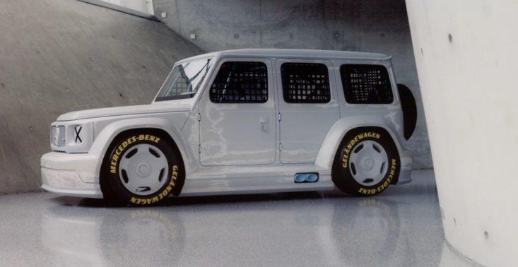 Geländewagen – wspólny projekt Virgila Abloha i Mercedes-Benz<