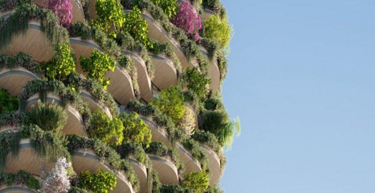 Urban Forest, czyli najbardziej zielony budynek świata – na wieżowcu wyrośnie ponad 1000 drzew<
