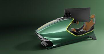 Aston Martin zaprezentował nowy symulator wyścigów – kosztuje 74 tys. dolarów