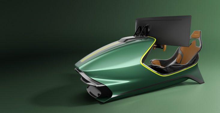Aston Martin zaprezentował nowy symulator wyścigów – kosztuje 74 tys. dolarów<