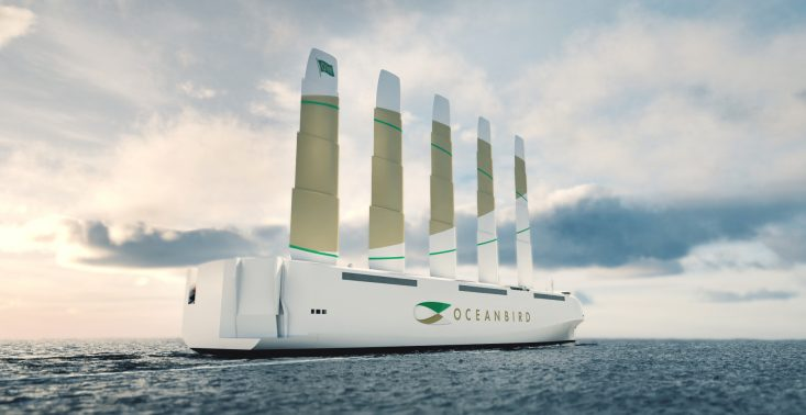""",,Oceanbird"""", czyli statek towarowy napędzany… wiatrem<"""