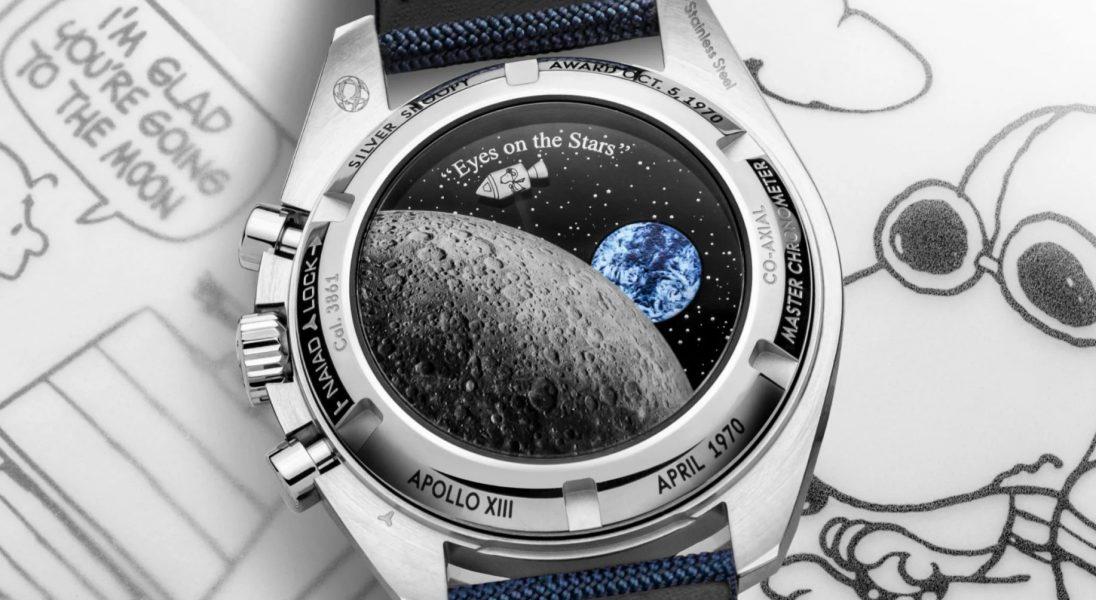 """Omega wypuszcza """"animowany"""" zegarek z okazji 50-lecia nagrody Silver Snoopy Award"""