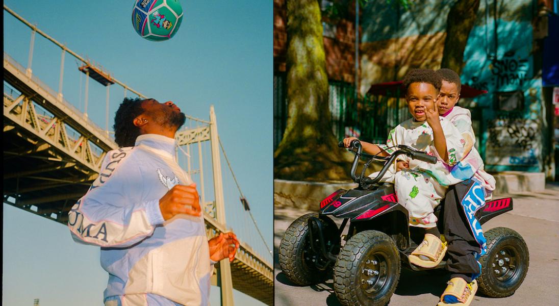 PUMA x KidSuper Studios: Artystyczna kolekcja inspirowana światem piłki nożnej