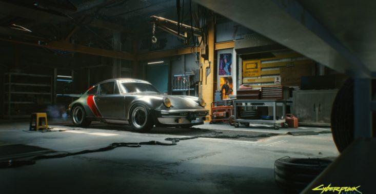 """Klasyczne Porsche 911 Turbo pojawi się w grze Cyberpunk 2077 – auto istnieje również w ,,realu""""<"""