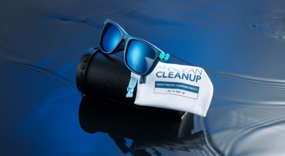 Te przeciwsłoneczne okulary powstały z plastikowych odpadów z oceanów