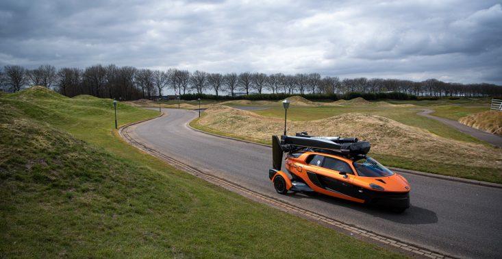 Na europejskich drogach już wkrótce pojawi się pierwszy latający samochód<