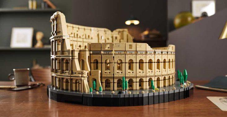 Lego Creator Koloseum to nowy największy zestaw marki – znajdzie się w nim aż 9036 klocków<