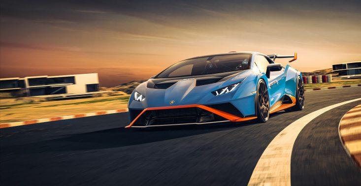 Z toru wyścigowego na drogi: premiera Lamborghini Huracàn STO<