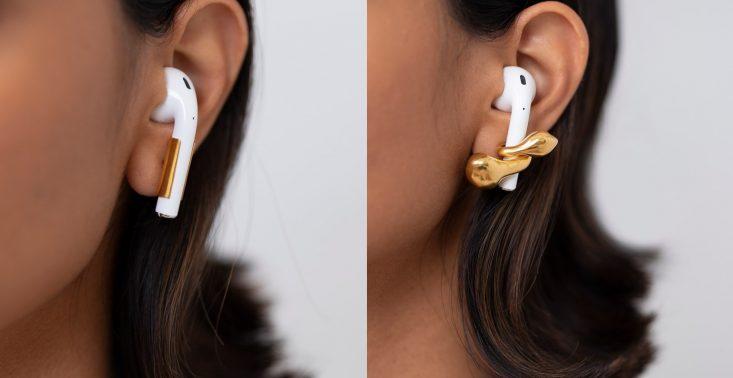Macie problem z wypadającymi z ucha słuchawkami? Te kolczyki Wam w tym pomogą<