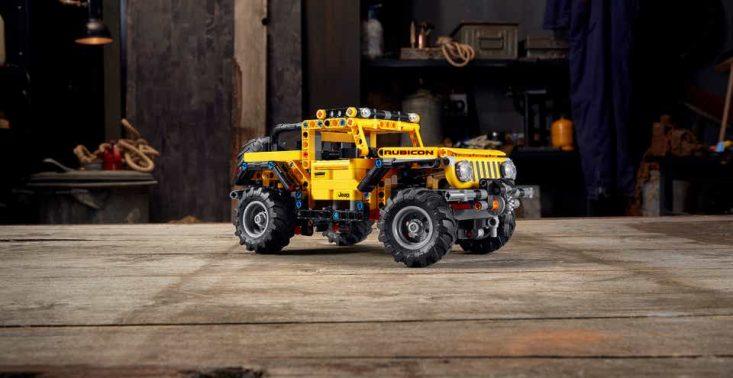 LEGO prezentuje nowy zestaw dla fanów moto – Jeep Wrangler Rubicon<