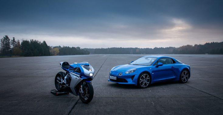 Limitowana seria motocykli inspirowana modelem Alpine A110<