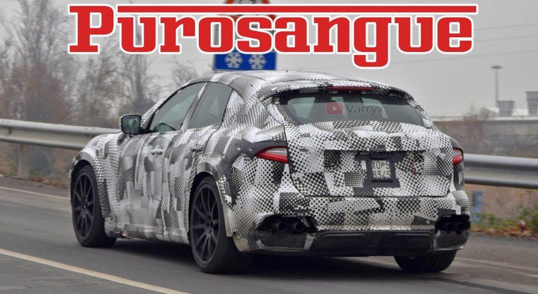 Purosangue, czyli pierwszy w historii SUV od Ferrari – są już pierwsze zdjęcia