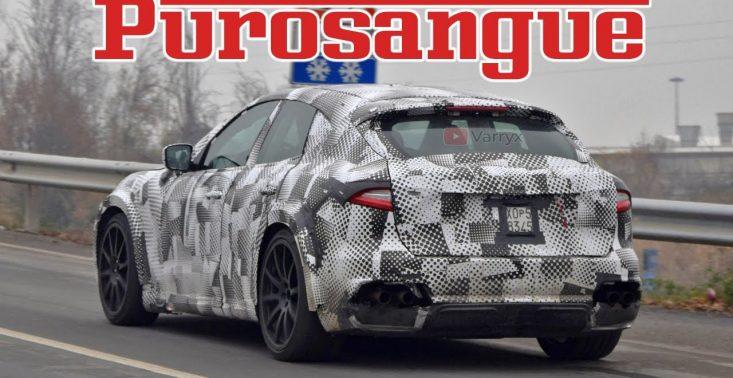 Purosangue, czyli pierwszy w historii SUV od Ferrari – są już pierwsze zdjęcia<