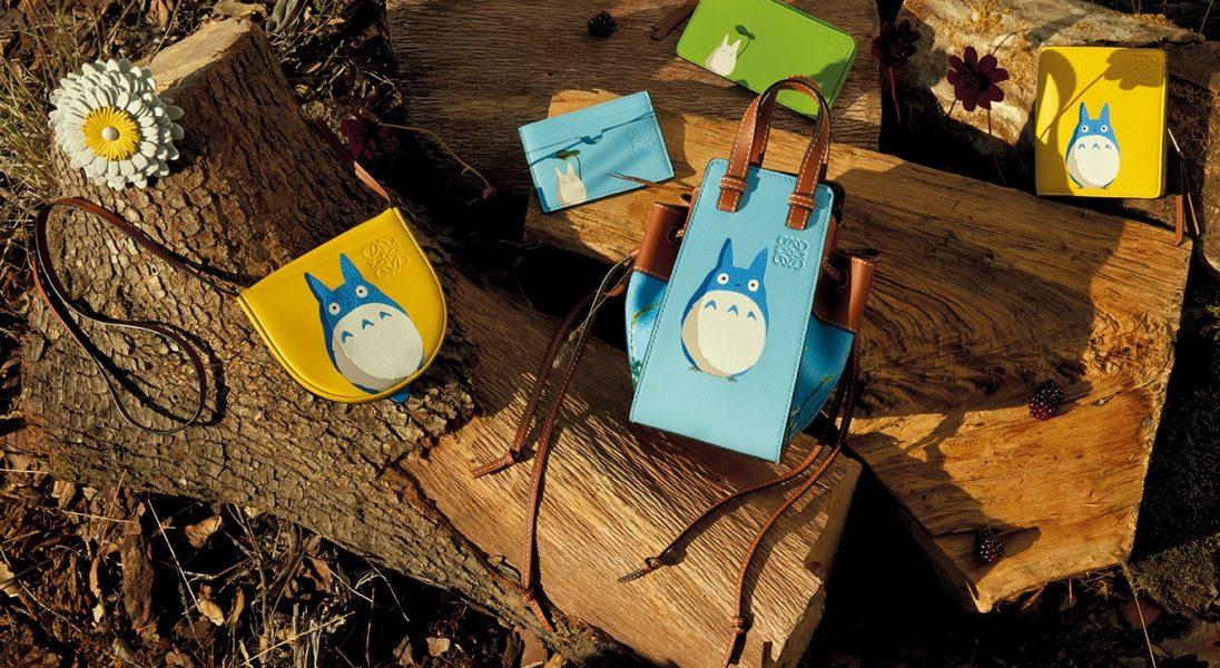 """Loewe i Studio Ghibli łączą siły we wspólnej kolekcji inspirowanej filmem ,,Mój sąsiad Totoro"""""""