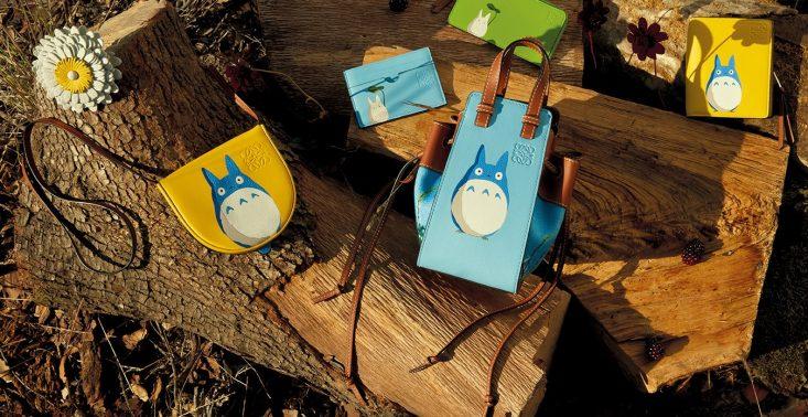 """Loewe i Studio Ghibli łączą siły we wspólnej kolekcji inspirowanej filmem ,,Mój sąsiad Totoro""""<"""