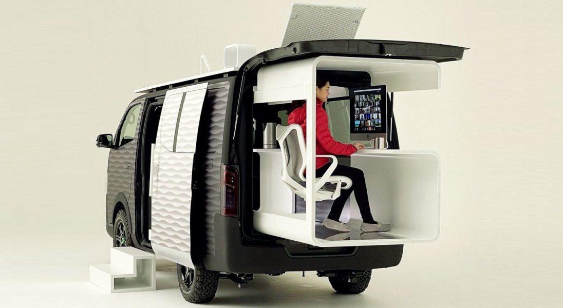 Kamper do pracy zdalnej? Nissan pokazał auto stworzone dla cyfrowych nomadów